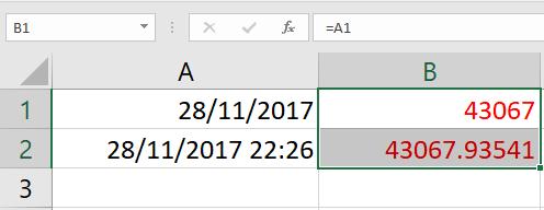 การทำงานเกี่ยวกับวันและเวลา (Date & Time) ใน Excel 4