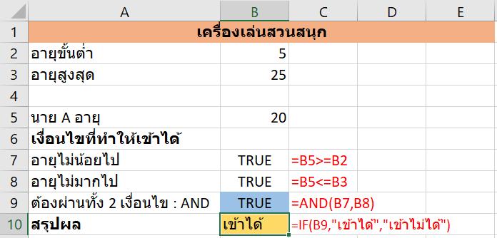 เจาะลึกสูตร Excel : IF 2