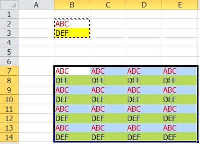 copy-paste-pattern