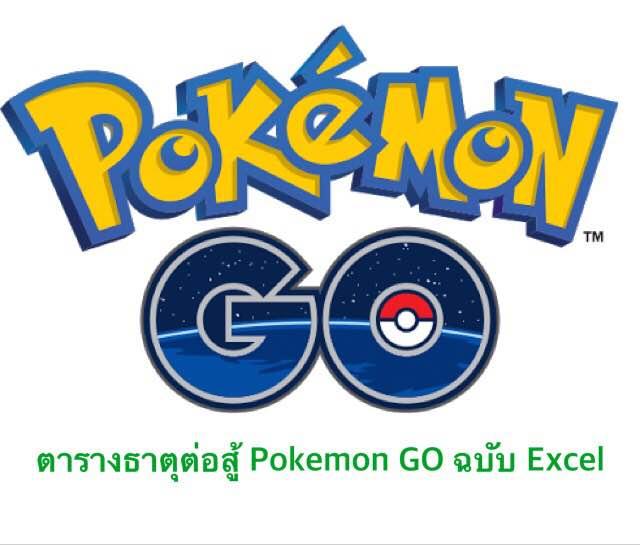 สอนใช้ INDEX เพื่อทำตารางธาตุ Pokemon GO! 1