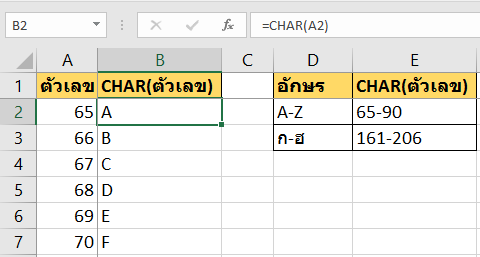 ลากข้อมูลแล้วให้ Excel ใส่ A-Z โดยอัตโนมัติ ด้วย Custom List 1