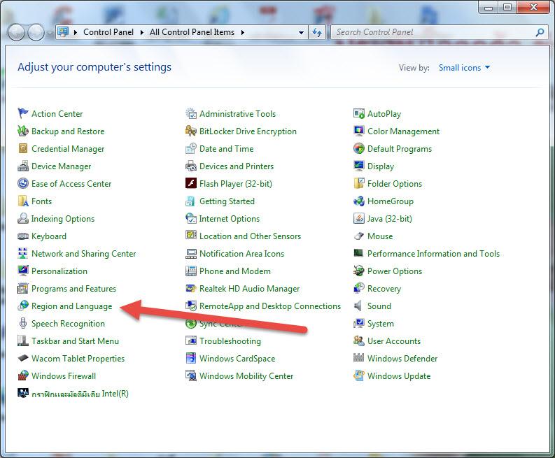 การตั้งค่าให้ Excel รู้จักวันที่ในรูปแบบที่ต้องการ เช่น วัน/เดือน/ปี ไม่ใช่ เดือน/วัน/ปี 8