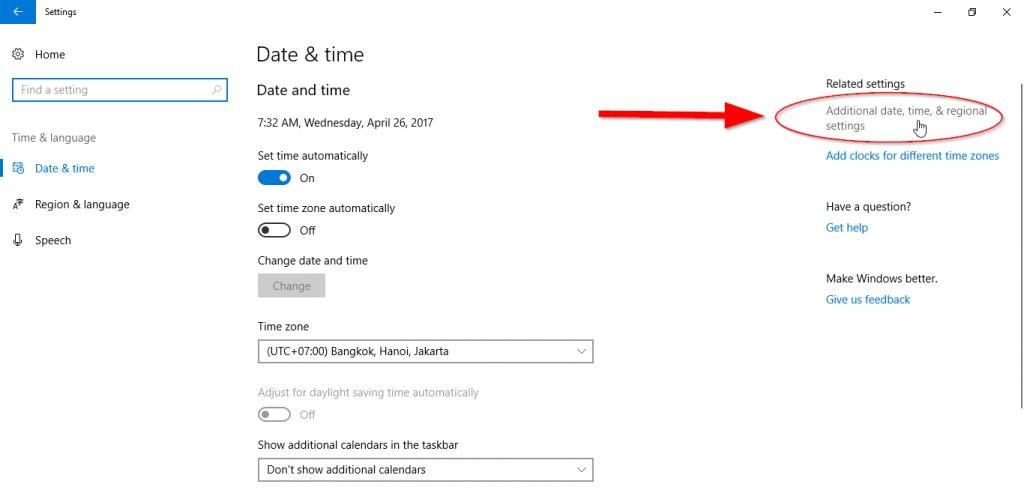 การตั้งค่าให้ Excel รู้จักวันที่ในรูปแบบที่ต้องการ เช่น วัน/เดือน/ปี ไม่ใช่ เดือน/วัน/ปี 5