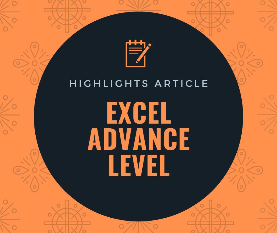 บทความแนะนำ การเรียนรู้ขั้นสูง (Advance Level) 1