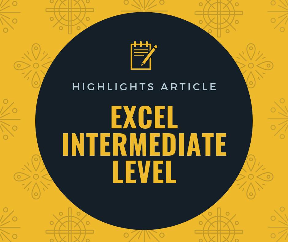 บทความแนะนำ การเรียนรู้ขั้นกลาง (Intermediate Level) 1