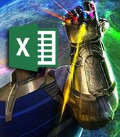 สอน Excel ผ่าน Avengers : พลัง Infinity Stone ทั้ง 6 ใน Excel (ไม่สปอยล์ End Game) 13