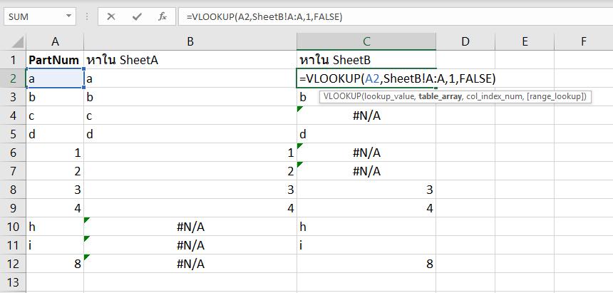 วิธีเปรียบเทียบข้อมูล 2 List ว่ามี item ไหนที่ต่างกัน? 5