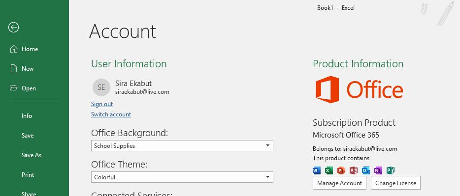 วิธีตรวจสอบรุ่นของโปรแกรม Excel (Excel Version) ของคุณ 7
