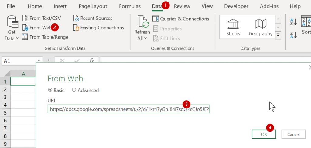 วิธีใช้ Power Query ดึงข้อมูลจาก Google Form/Google Sheets 14