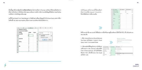 หนังสือ Excel Power Up! : เพิ่มพลังการใช้ Excel ของคุณด้วย Power Query (E-BOOK) 6