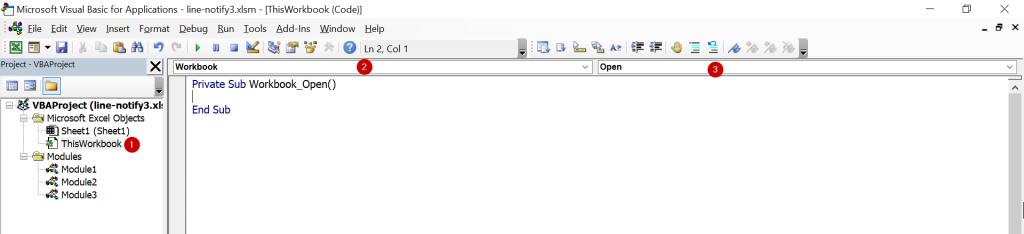 วิธีส่งข้อความแจ้งเตือน (Notification) จาก Excel เข้า Line หรือ Email : ภาค 3 17