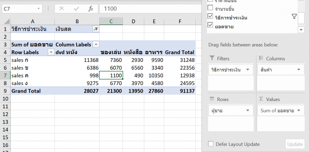 Power BI ตอนที่ 02: พื้นฐาน Excel ที่สำคัญก่อนจะเรียนรู้ Power BI 3