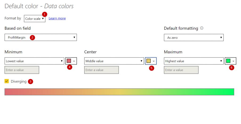 Power BI ตอนที่ 06: การปรับแต่งสีใน Visual ด้วย Conditional Format 6