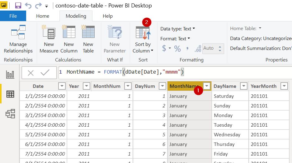 Power BI ตอนที่ 09: สร้าง Date Table ด้วย DAX 12