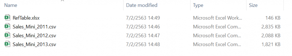 Power BI ตอนที่ 07: เริ่ม Get Data ตั้งแต่ไฟล์ยังว่างเปล่า 2