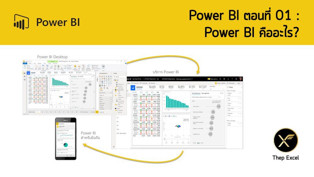 Power BI ตอนที่ 01: Power BI คืออะไร? 4