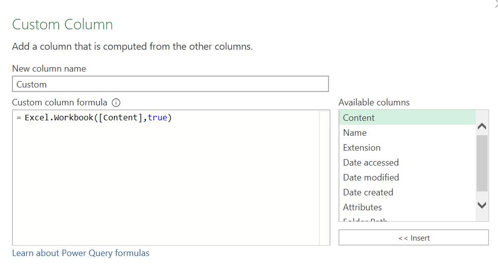 วิธีรวมไฟล์ใน Folder แบบไม่มีปัญหาเรื่องชื่อคอลัมน์ใน Power Query 2