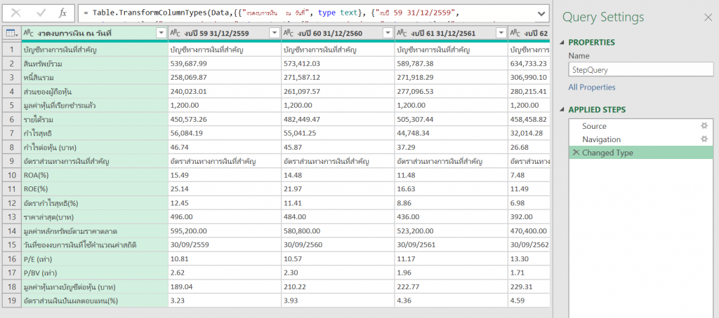 4 ขั้นตอนในการสร้าง Function Query แบบที่มี UI ให้แก้เล่นได้ใน Power Query 5