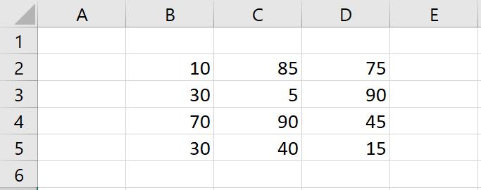 เล่นกับ Matrix ใน Excel ตอนที่ 2 : สรุปข้อมูล Total แต่ละแกน 1