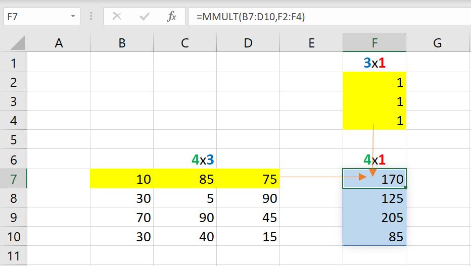 เล่นกับ Matrix ใน Excel ตอนที่ 2 : สรุปข้อมูล Total แต่ละแกน 4