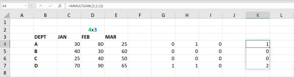 เล่นกับ Matrix ใน Excel ตอนที่ 3 : ค้นหาข้อมูลตามเงื่อนไข 4