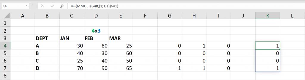 เล่นกับ Matrix ใน Excel ตอนที่ 3 : ค้นหาข้อมูลตามเงื่อนไข 5