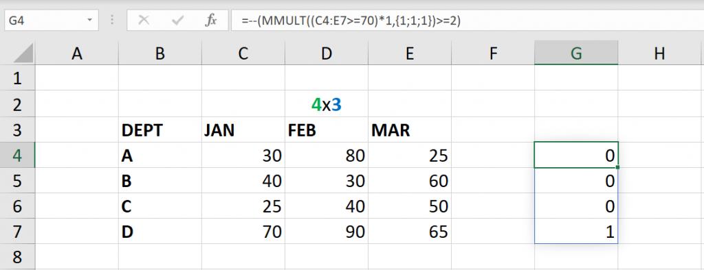 เล่นกับ Matrix ใน Excel ตอนที่ 3 : ค้นหาข้อมูลตามเงื่อนไข 8