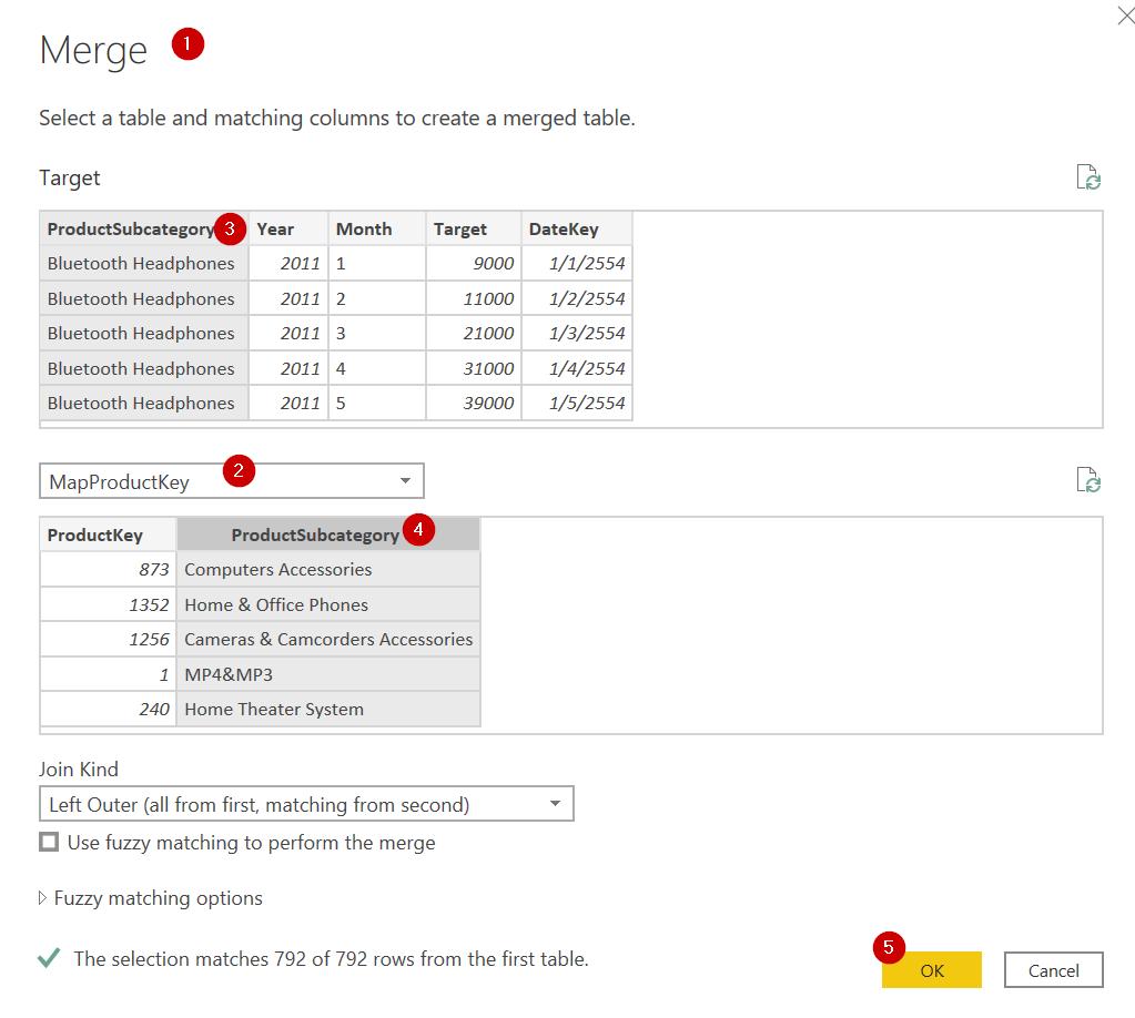 Power BI ตอนที่ 17 : วิธีทำรายงานเทียบเป้าหมาย Target vs Actual 9