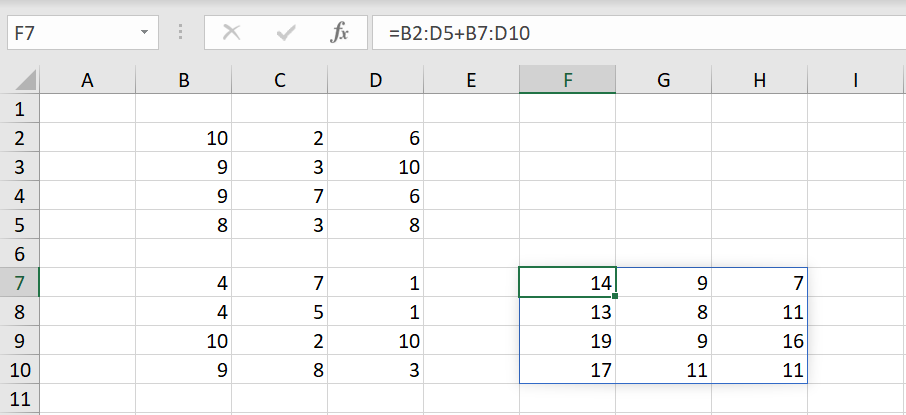 Excel Array Formula ตอนที่ 1 : พื้นฐาน 10