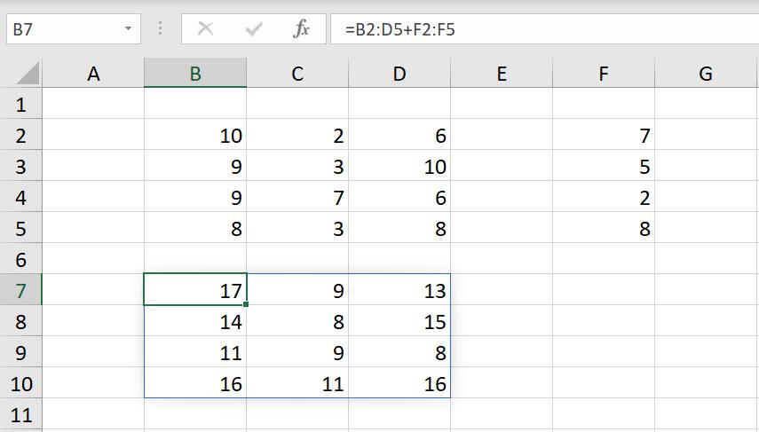 Excel Array Formula ตอนที่ 1 : พื้นฐาน 11