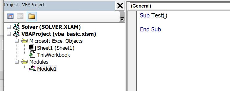 Excel VBA พื้นฐาน ตอนที่ 1 : เขียน Code ครั้งแรก 5