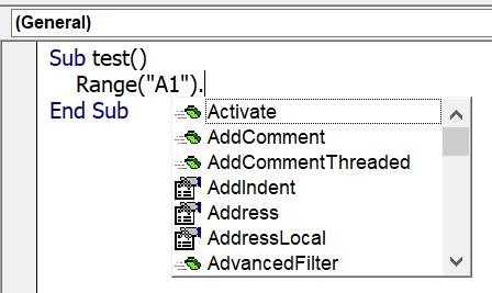 Excel VBA พื้นฐาน ตอนที่ 2 : VBA Object 4