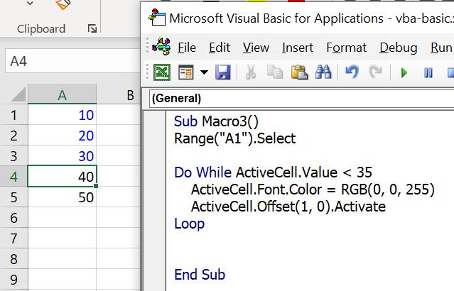 Excel VBA พื้นฐาน ตอนที่ 3 : การวน Loop 6