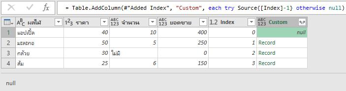 คัมภีร์สรุป M Code ใน Power Query ตอนที่ 2 : Function และ each 15