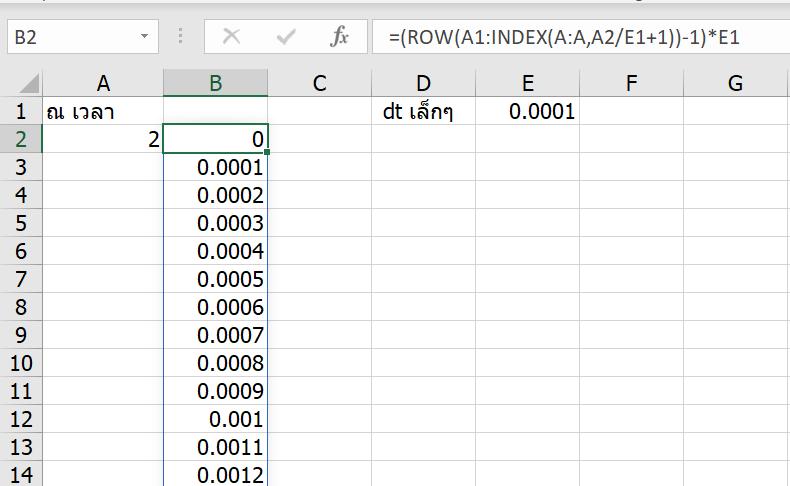 เรียน Calculus ด้วย Excel ตอนที่ 2 : Integrate กับพื้นที่ใต้กราฟพิศวง 12