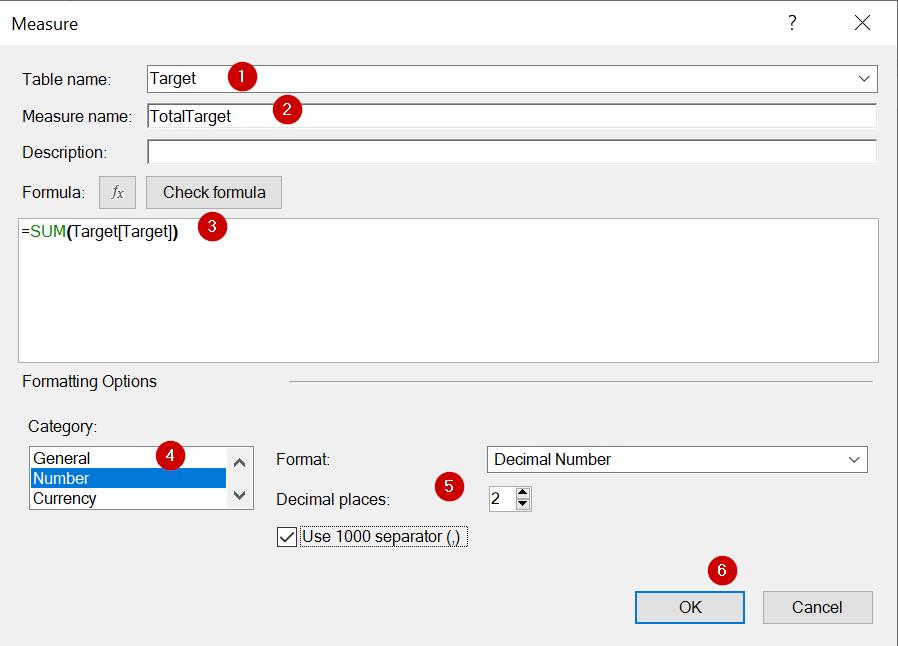 การใช้ Excel Power Pivot ตอนที่ 5 : การทำรายงาน Actual vs Target 13