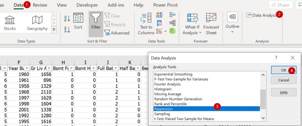 การพยากรณ์ยอดขายใน Excel ด้วย Forecast และผองเพื่อน 13