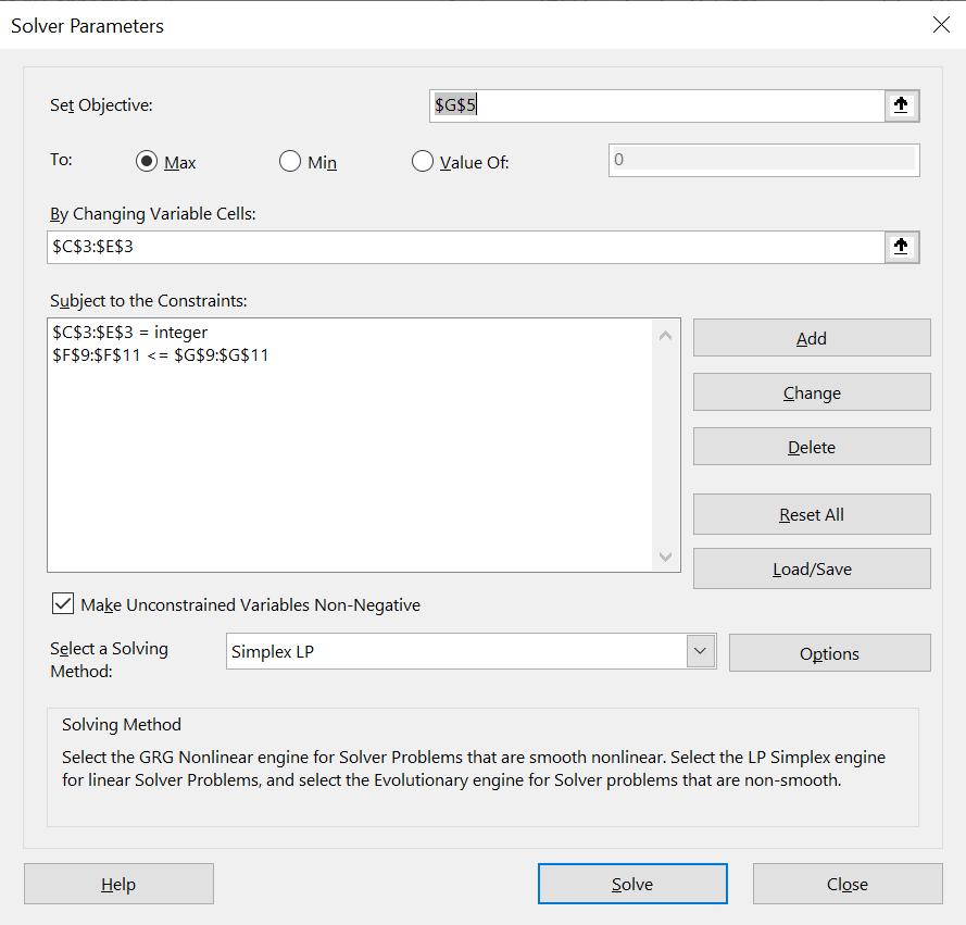 สอนใช้ Excel Solver เพื่อช่วย Optimize และตัดสินใจเชิงธุรกิจ 3