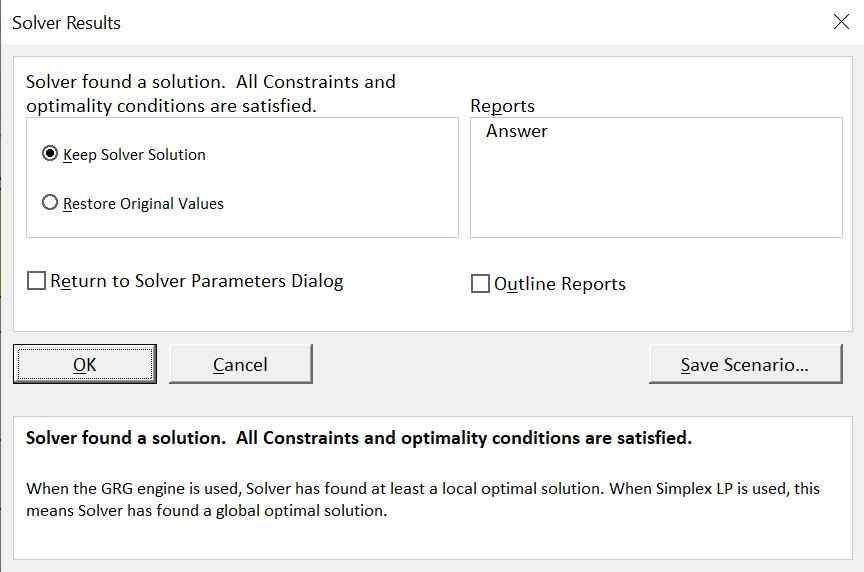 สอนใช้ Excel Solver เพื่อช่วย Optimize และตัดสินใจเชิงธุรกิจ 4