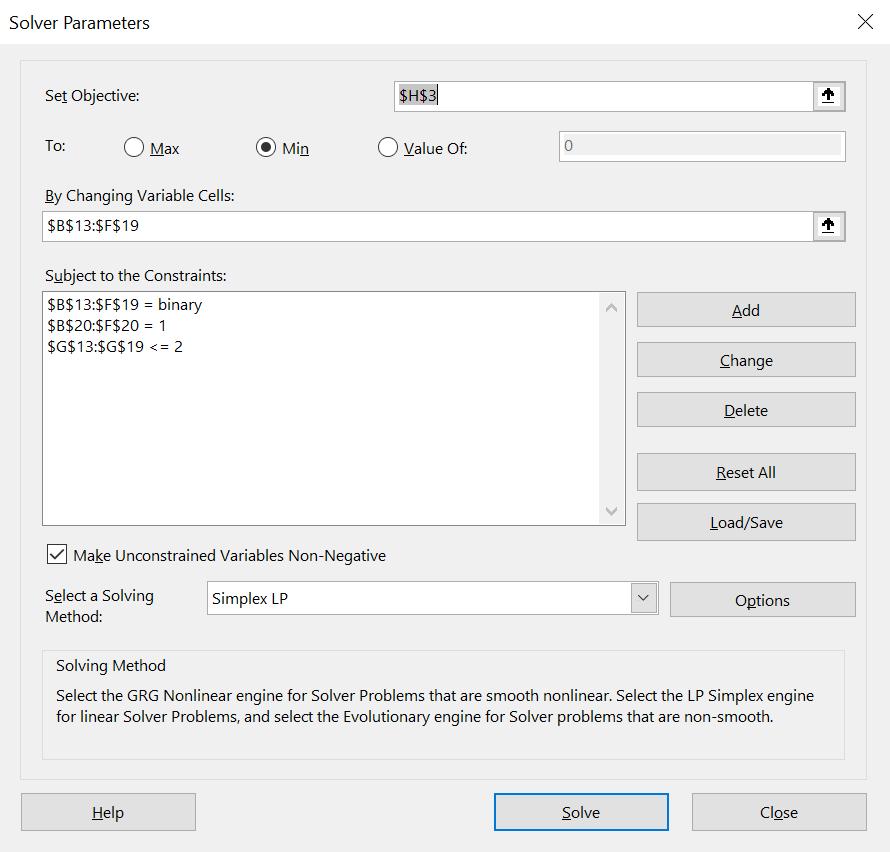 สอนใช้ Excel Solver เพื่อช่วย Optimize และตัดสินใจเชิงธุรกิจ 10