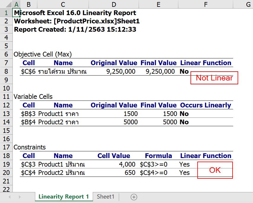 สอนใช้ Excel Solver เพื่อช่วย Optimize และตัดสินใจเชิงธุรกิจ 17