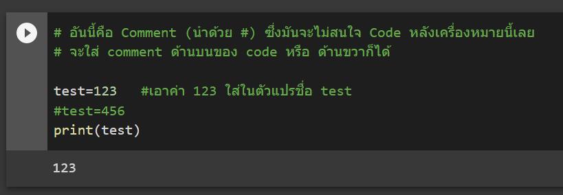 หัดเขียนโปรแกรม Python สำหรับคนเป็น Excel มาก่อน  : ตอนที่ 1 5