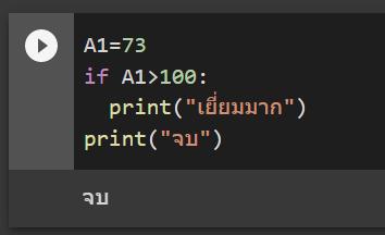 หัด Python สำหรับคนเป็น Excel : ตอนที่ 3 – การวน Loop และ เงื่อนไข if 2