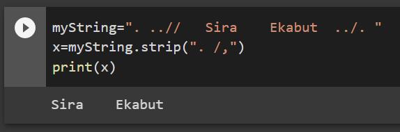 หัด Python สำหรับคนเป็น Excel : ตอนที่ 4 – การทำงานกับ String และ List 1