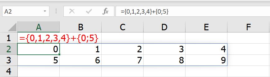 รวมสูตร Excel พิศดาร แปลกจริง เจ๋งจัง 11