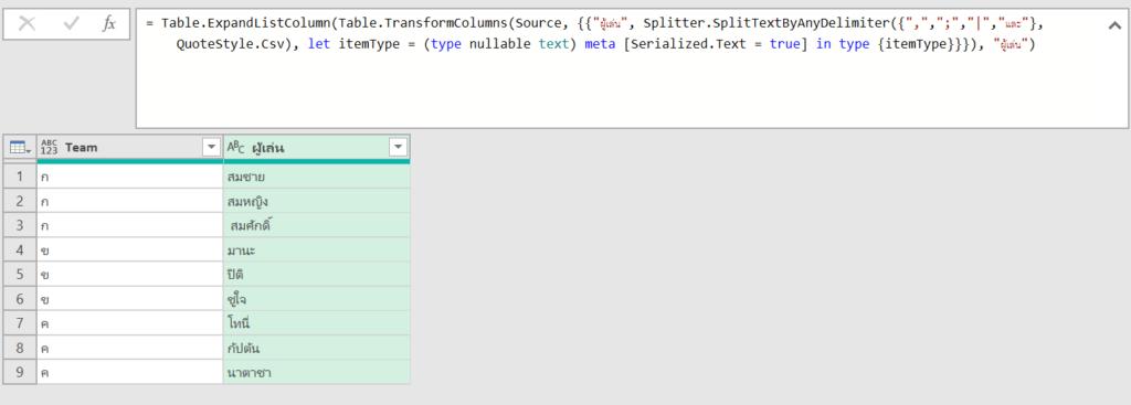 เทคนิคแก้สูตร M Code ให้ Power Query ทำงานได้ดั่งใจ 6