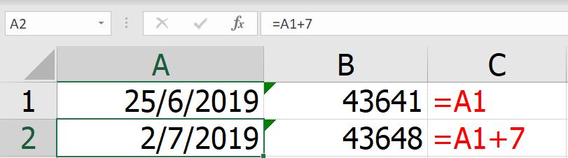 วันนี้ วันนั้น วันไหน? : เรื่องลับๆเกี่ยวกับวันที่ใน Excel 8