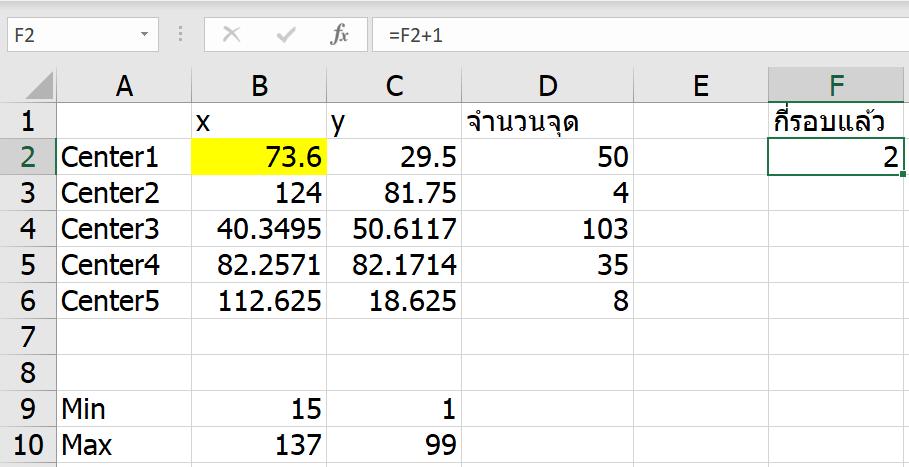 ลองทำ Machine Learning ใน Excel เทคนิค K-Means Clustering แบบไม่ง้อ VBA 16