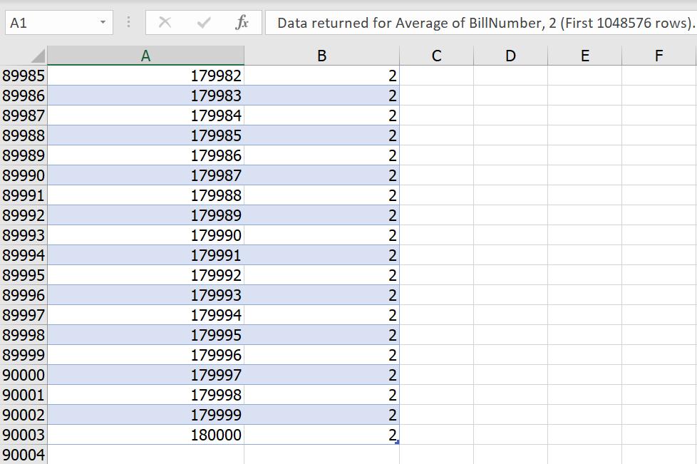 วิธีดับเบิ้ลคลิ๊กแสดงข้อมูลรายะเอียดใน Pivot แบบ Data Model ให้เกิน 1000 บรรทัด 8