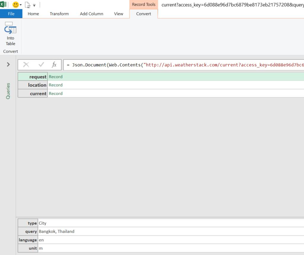 วิธีใช้ Power Query ดึงข้อมูลจาก Web API : ตอนที่ 1 13